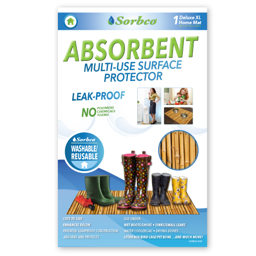 Multi Use Bamboo Surface Protector Sorbco